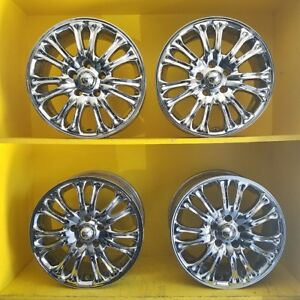 16 American Racing Chrome Plated Aluminum Wheels Ford Volvo