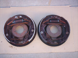 Mopar 11 Inch Rear Backing Plate Brake Assembly L And R Challenger Cuda Charger