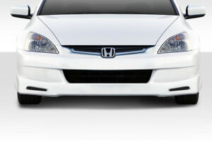03 05 Honda Accord 4dr Type M Duraflex Rear Bumper Lip Body Kit 114410