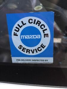 Mazda Rx7 Circle Of Service Decal Reproduction Of The Original