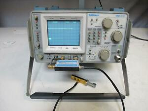 Tektronix 492 Spectrum Analyzer 50khz 21ghz W Opt 1 2 3 Waveguide Mixing Kit