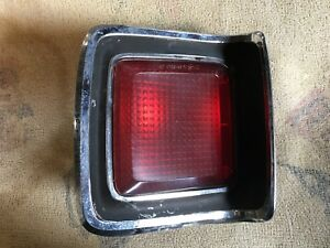1969 69 Plymouth Road Runner Gtx Satellite Left Driver Tail Light Housing