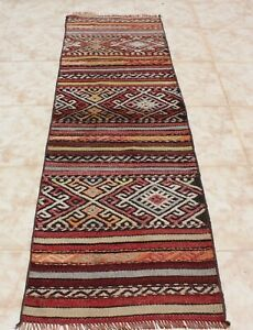 Kilim Runner Rug 1 5x5 5 Turkish Kilim Runner Rug 20 X 66 Kelim Carpet Rug