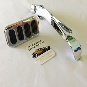 Hot Rod Spoon Gas Pedal And Brake Pedal Combo Chrome