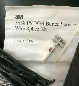 3m 3838 Buried Service Wire Splice Kit