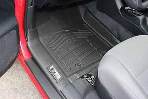 Front Sure fit Floor Mats 2016 2018 Toyota Tacoma Double access standard Cab