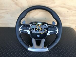 Dodge Charger 6 4l Srt 392 Hemi Oem Pedal Shifter Leather Steering Wheel 28k