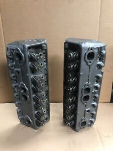 1968 1986 Chevy 350ci 5 7l V8 Oe Gm Cylinder Heads 3998920 High Performance