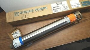 New Goulds Pumps 10ls30 4 Stainless Submersible 10 Gpm 3 Hp Well Pump End Only