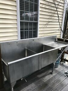 Used Commercial Restaurant Sink Nsf