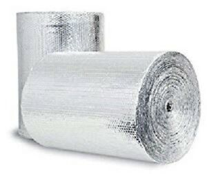 500sqft Double Bubble 1 4inch Thick Radiant Barrier Insulation Foil 48 X 125ft