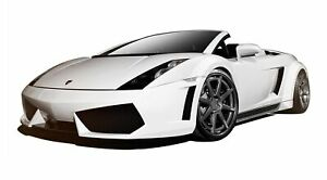 Af 1 Wide Body Kit Gfk 9 Piece Fits Lamborghini Gallardo 04 08 Aero Fun