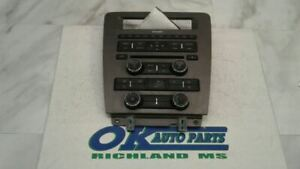 10 Ford Mustang Radio Control Panel Ar3t18a802cg