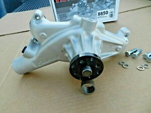 Edelbrock 8850 Victor Series Aluminum Short Water Pump Big Block Chevy High Flow