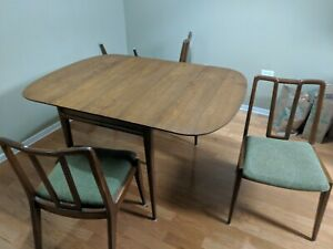 John Stuart Mid Century Modern Dining Table And Chairs