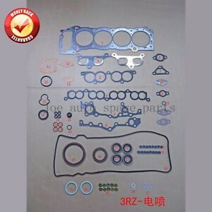 3rzfe Full Gasket For Toyota Hiace dyna land Cruiser coaster 4runner 2 7l 2694cc