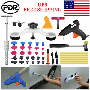 Pdr Auto Body Dent Removal Puller Glue Gun Paintless Repair Removal Hail Tools