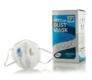 Gp15004 Dust Mask Ffp3 Nr Respirator Face Mask Disposable Half Face Mask 30pcs