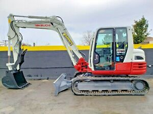 2016 Takeuchi Tb290 Mini Excavator Digger 18 630 Lbs 1593 Hours Work Ready