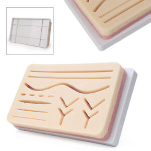 Pvc Silicone Medical Surgical Suture Human Skin Training Teaching Practice Model