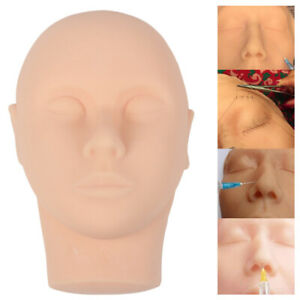 Silicone Head Injection Face Skin Suture Surgery Teaching Model Practice Tool