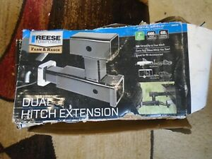New Reese Towpower Dual Hitch Extension With 2 Hitch 70601