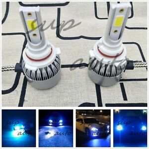 9006 Hb4 Led Headlight Bulb Conversion Kit Low Beam 8000k Ice Blue Super Bright
