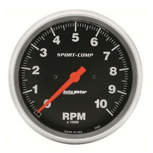 Auto Meter 3990 Sport comp In dash Electric Tachometer