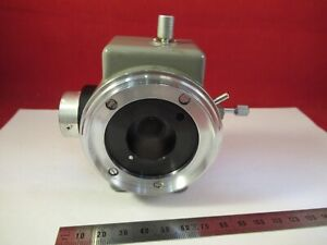 Olympus Japan Vertical Adapter Head Optics Microscope Part As Pictured