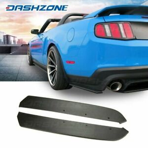 Rs Urethane Rear Bumper Side Lip Spoiler Body Kits Fit 2013 2019 Ford Mustang