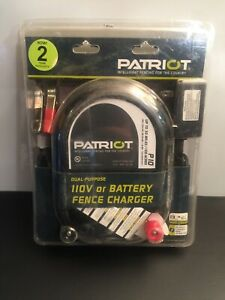 Patriot P10 Electric Fence Charger Energizer 100 Mile Horse Cow Goat Cheap