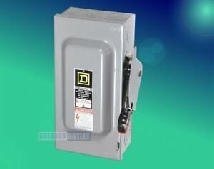Hu361 Square D Heavy Duty Safety Switch Non fusible
