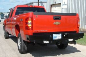 Ranch Hand Sbc081blsl Sport Rear Bumper For 2008 2010 Chevy Silverado 2500 Hd