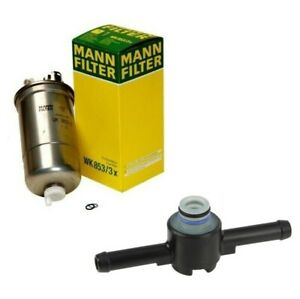New Fuel Filter Filter Return Valve For Vw Beetle Golf Jetta Tdi 1 9l Diesel