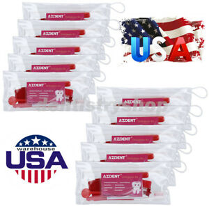 20x Dental Orthodontic Brush Ties Toothbrush Brush Floss Oral Kit Azdent