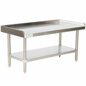 Heavy Equipment Stand W Casters Stainless Steel Table Commercial 30 X 48