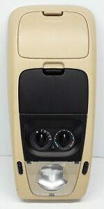 02 05 Ford Explorer Mercury Mountaineer Overhead Console Map Dome Light Tan