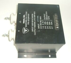 Trion Inc Power Supply 431358 001 High Voltage Transformer