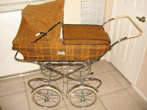 Antique Museum Quality Bilt Rite Baby Carriage Buggy Stroller