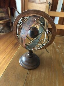 Vintage Globe With Astrology And Zodiac Themes Made In Italy