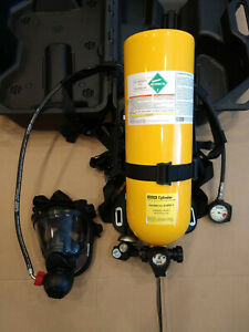 Msa Self Contained Breathing Apparatus scba Full Rescue safety Emergency Pack