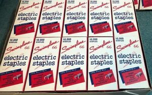 Rare Swingline Industrial Electric Stapler Staples Case Of 100 000 Staples