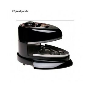 Pizza Pan Oven Countertop Automatic Removable Nonstick Bake Rotate Tray Cookware
