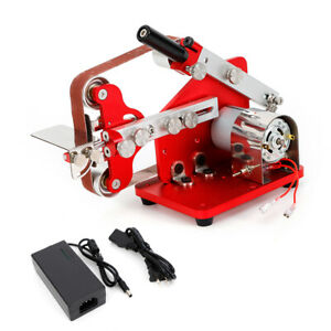 Belt Disc Sander Kit Combination Cast Iron Base Bench Top Polisher Sanding M 775