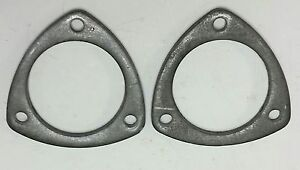 2 5 Header Collector Rings Weld Slip On 3 Bolt 5 16 Thick Steel Flange