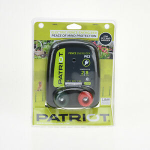 Patriot Electric Fence Energizer 2 Miles 8 Acres 120 Volt