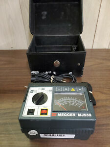 Biddle Megger Mj559 avo 212559 1000 Volts Insulation Tester Free Shipping