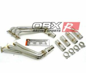 Stainless Steel Header For Chevy 2010 2011 2012 2013 2014 Camaro 3 6l V6 By Obx