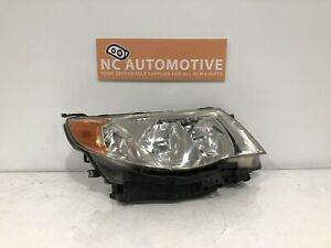 2009 2010 2011 2012 2013 Subaru Forester Headlight Right Rh Halogen Oem F53