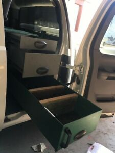 Silverado Excab Truck Tool Box For Rear Mounts In Floor In Place Of Back Seat